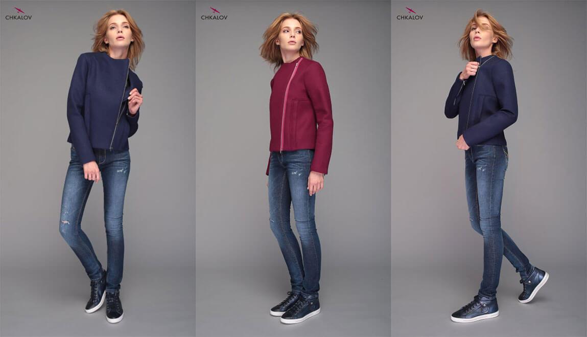 С чем сочетаются и как носить джинсы бойфренды  Советы от Чкалов ТМ 76b5cf66965